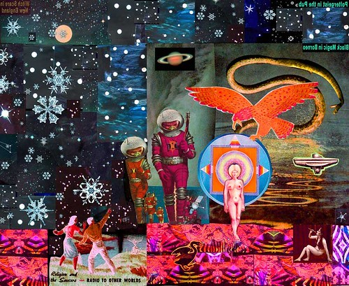 Larry Carlson, Aquarius Interdimensional, digital chromogenic print, 36x30in., 2007.