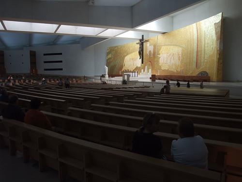 Interior da Santíssima Trindade