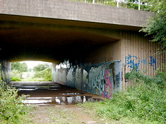 Nr Tiverton Parkway Station, Devon (DG Jones) Tags: underpass devon ruraldecay westcountry tiverton tivertonparkway