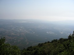 Valley Below (cariberry) Tags: israel hiking galilee september 2008 birthright taglit israeloutdoors mtmeron mountmeron