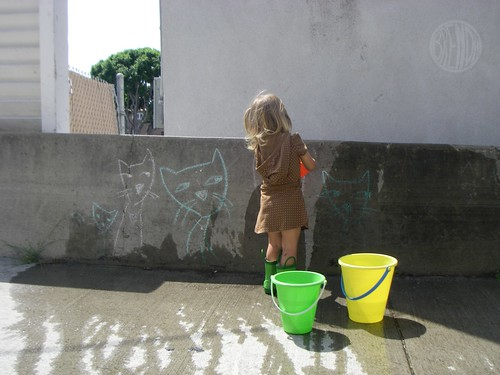 washing graffiti 5