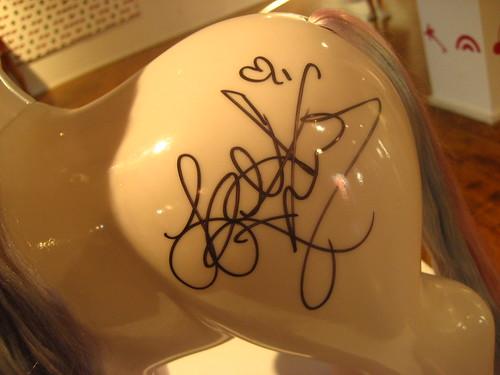 Leanne Rimes' Autograph