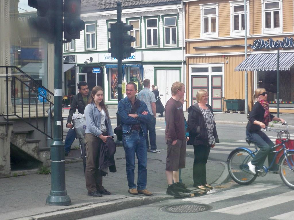 Διάβαση στο Trondheim