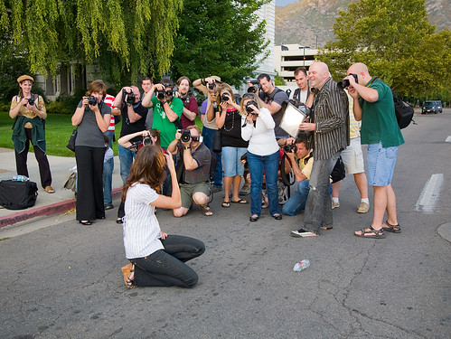 Traffic Stopping Photographers