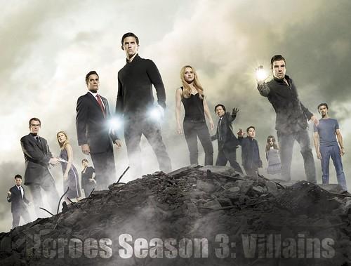 Heroes - Season 3 Villains [Promo] - Banner