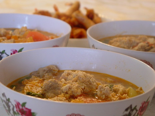 three bowls of bun rieu_small by you.