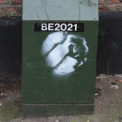 BE2021 (Leo Reynolds) Tags: canon eos iso100 stencil number f56 2021 ino stencilnorwich 44mm 0ev 40d hpexif groupstencil 0017sec ino01 xsquarex xleol30x xratio1x1x xxx2008xxx