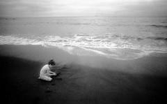 (6x9) Tags: boy waves pacificocean irphotography infraredfilm nikkor24mmlens muirbeachca efke820cfilm nikonel2slrcamera
