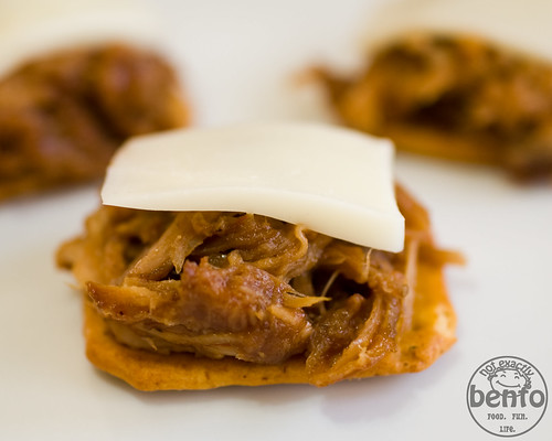 Using Pulled Pork to make a great appetizer