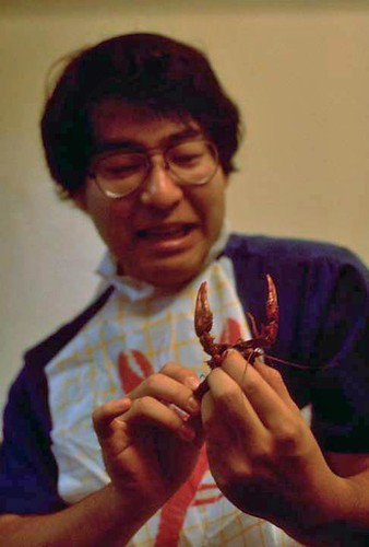 Hiroki and the zarigani