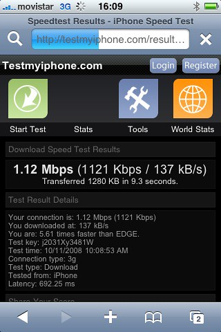 Prueba 3G 2