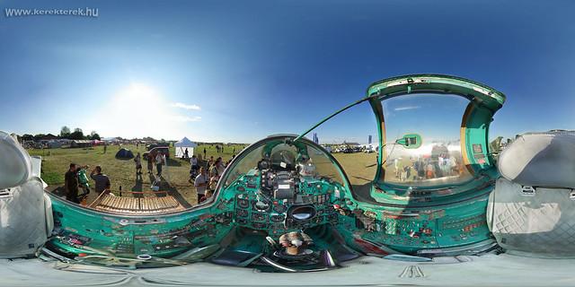 MIG-21 Cockpit Panorama 360°