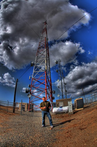 Allen at the Antennas