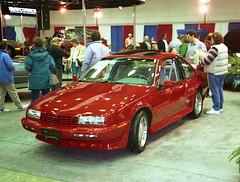 1989 Chevy Beretta GTU (splattergraphics) Tags: chevy 1989 carshow beretta baltimoremd gtu baltimoreinternationalautoshow