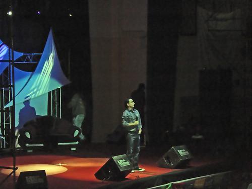 Adal Ramones en Cochabamba Bolivia