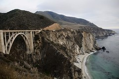 Bixby Bridge (Nicola Zuliani) Tags: california bridge usa nature water ponte pacificcoast bixbybridge nizu nicolazuliani nnusa wwwnizuit