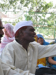 The Patriarch of the Qawwali  family - Udaipur