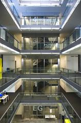 Faculté de droit à Basel (Francois') Tags: de angle library université wide basel francois bale bibliothèque droit faculté