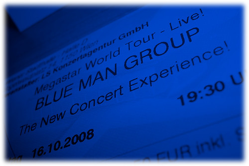 Blue Man Group @ Vienna, Stadthalle | 16.10.2008