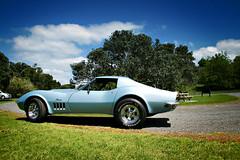 Corvette summer (rikko40) Tags: cruise summer classic chevrolet beach sports car muscle corvette vette chev
