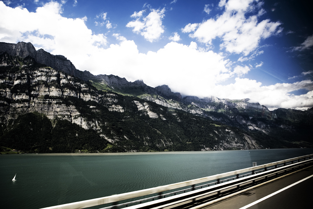 Road trip from Lucerne, Switzerland to Innsbruck, Austria