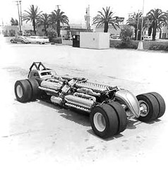 "Jim Lytle's ""Quad Al"" Four-engine Allison Dragster (twm1340) Tags: allison fiat aircraft quad dragster v12 topolino lytle jimlytle quadal"