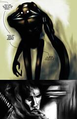 Pgina 2 (Jugo de Naranjo) Tags: digital robot comic sebastian katana gigante asesino ilustracion naranjo