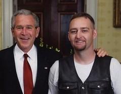 President Bush & Hugh Knaus
