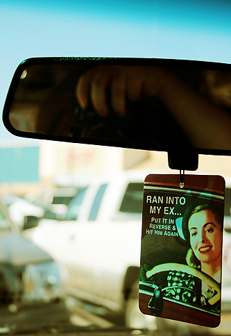 5/365: The Rearview Mirror