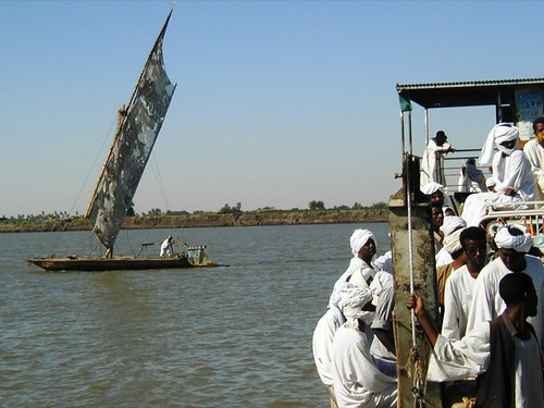 The River Nile at Dongola, Sudan