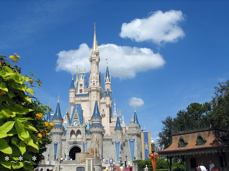 IMG_6778-Disney-Castle-Flowers-Halloween-Magic-Kingdom