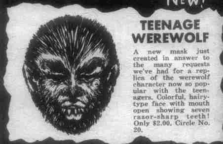 teenage werewolf