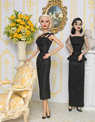 Stoeckel_BlackSlimGowns (MyLifeInPlastic.com) Tags: jason fashion by dolls dress designer michelle gown wu royalty inauguration inaugural ballgown integritytoys obamas