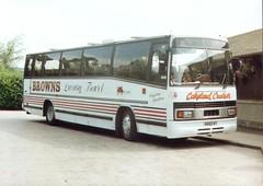 6682WY-01 (Ian R. Simpson) Tags: 6682wy pyt153r a184jjd a143scw volvo b58 plaxton paramount3200 glentontours brownsofambleside shawhadwin travellerschoice glovers gogoodwin glenton coach