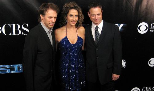 CSI New York 100th Episode Blue Carpet