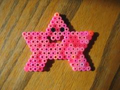 Perler Beads Patrick Starfish (Kid's Birthday Parties) Tags: kids star beads crafts patrick spongebob kidscrafts fusebeads hamabeads perlerbeads