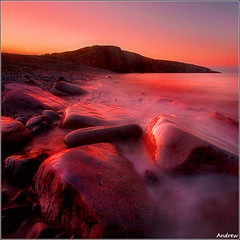 Square? (andrewwdavies) Tags: longexposure sea cold water sunrise rocks earlymorning verycold southerndown circularpolariser wetfeet canonefs1022mmf3545 dunravenbay glamorganheritagecoast wfcmeet canoneos40d mistywater andrewwilliamdavies witchspoint