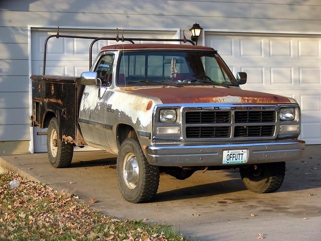 truck work pickup dodge ram
