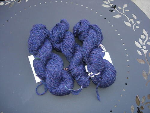 Navy colonial wool heather