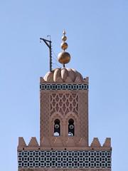 Marrakech (by_irma) Tags: tower toren minaret morocco marrakech marokko  galg koutoubiamosque   koutoubiamoskee gsllow