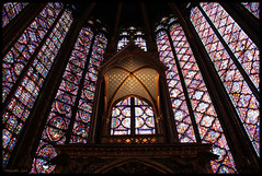 SAINTE-CHAPELLE DU PALAIS (PARIS) (MIGUEL (in)) Tags: paris vitrail francia vidrieras saintechapelle miguelin cristaleras abigfave ltytr1 migueluceda tamronaf18200mmf3563xrdiiildasfricoifmacro