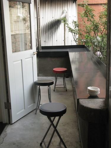 二樓外面的小陽台
