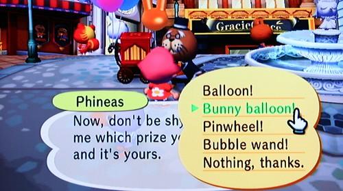 bunny balloon!