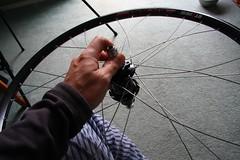 three (VertigoCycles) Tags: oregon portland vertigo titanium chrisking wheelbuilding customframe