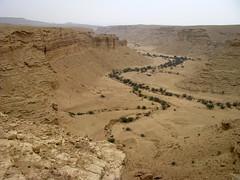 Wadi contours
