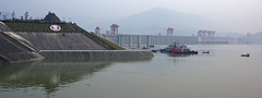 Three Gorges Dam - Yangzi River (Ray Devlin) Tags: world poverty china project river three asia industrial ship power control flood lock gates earth dam pass environmental engineering reservoir peoples hydro civil massive disaster infrastructure huge relocation yangtze longest marvel majestic yangzi defence structural largest engineers hydraulic peoplesrepublicofchina threegorgesdam yangziriver longriver navigable threegorgesproject threegorgesreservoir