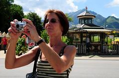 Birthday - One Year Flickr (Batikart) Tags: travel vacation portrait people square geotagged austria sterreich holidays leute urlaub portrt uschi vacanze mensch pertisau 10faves viewonblack batikart 201204