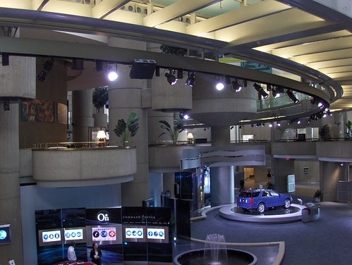 Inside the belly of the General Motors headquarters