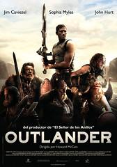 Poster Outlander Jim Caviezel Sophya Miles