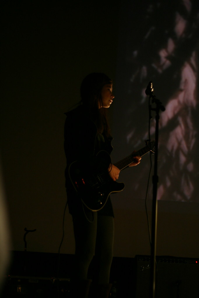 Jenha Wilhelm @ Brainwaves 2008 - photo by John Kealy